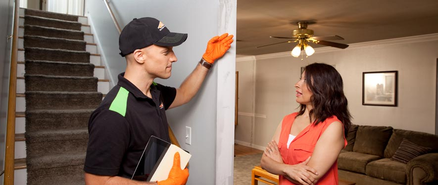 Houston Heights, TX fire repair process